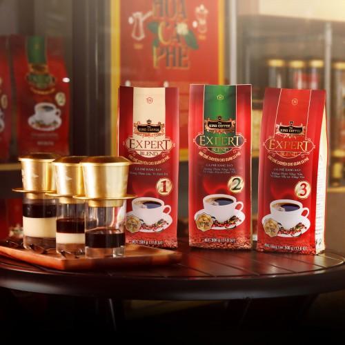 Top các loại hạt cafe phổ biến nhất tại Việt Nam - Dòng sản phẩm Cà Phê Rang Xay Expert Blend – Đặc chế chuyên cho quán cà phê