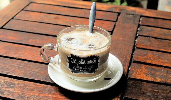Cafe muối được nhiều người yêu thích