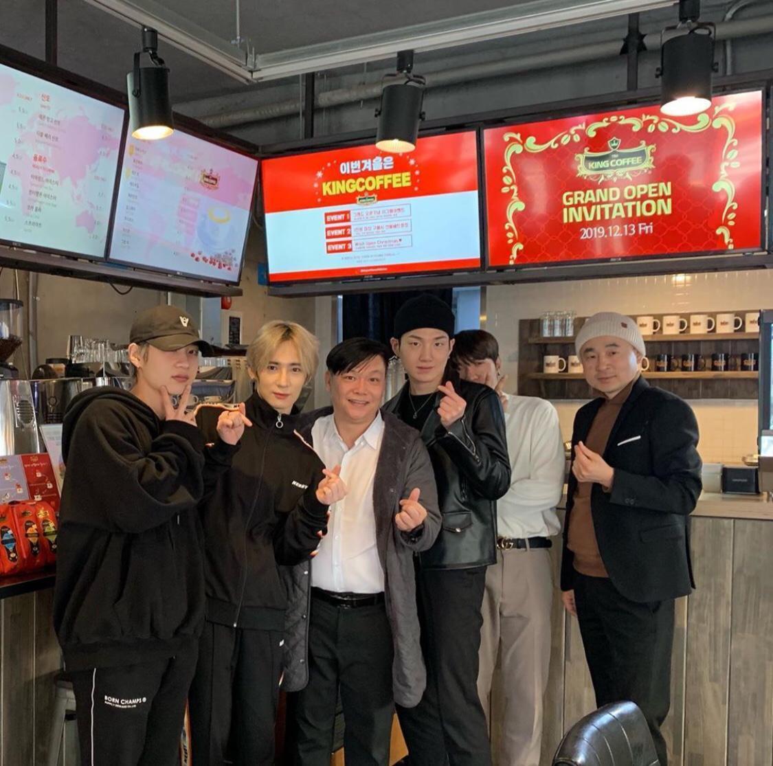 King Coffee tại Seoul Hàn Quốc