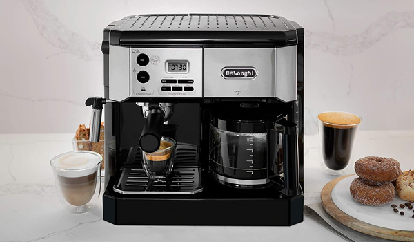 máy pha cà phê cao cấp De'Longhi Combination Espresso and Coffee Machine BCO430BM