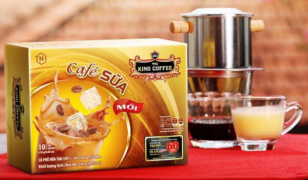 Cà phê hòa tan King Coffee 3 in 1