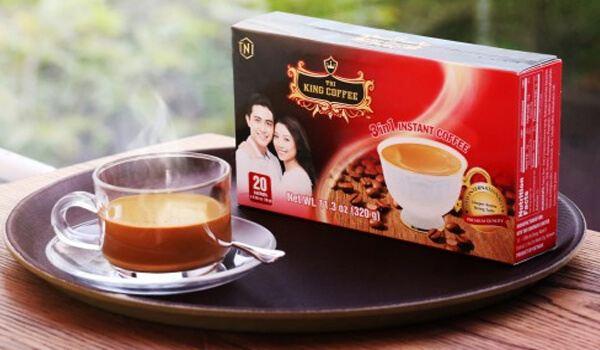 Cà phê sữa King Coffee 3 in 1